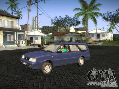 Daewoo FSO Polonez Kombi 1.6 2000 for GTA San Andreas back left view