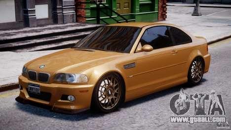 BMW M3 E46 Tuning 2001 v2.0 for GTA 4