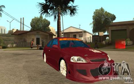 Honda Civic 1998 Tuned for GTA San Andreas