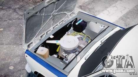 Fiat 125p Polski Milicja for GTA 4 right view