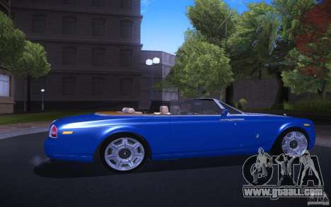 Rolls-Royce Phantom Drophead Coupe for GTA San Andreas right view