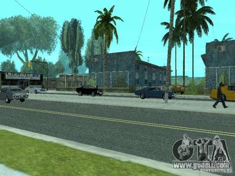 Mega Cars Mod for GTA San Andreas fifth screenshot
