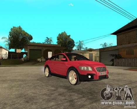 VOLVO C 30 T5 DEL 2008 for GTA San Andreas right view