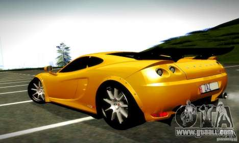 Ascari KZ1R Limited Edition for GTA San Andreas back left view