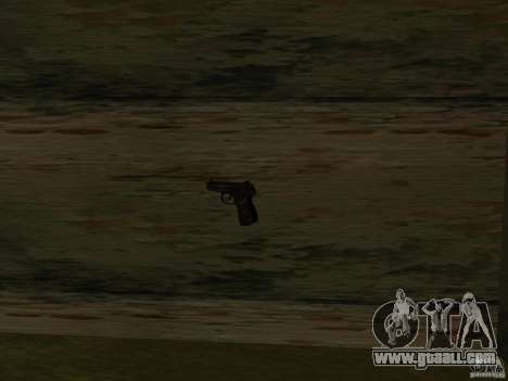 Pak domestic weapons for GTA San Andreas ninth screenshot