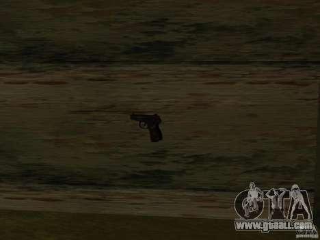 Pak domestic weapons for GTA San Andreas ninth screenshot
