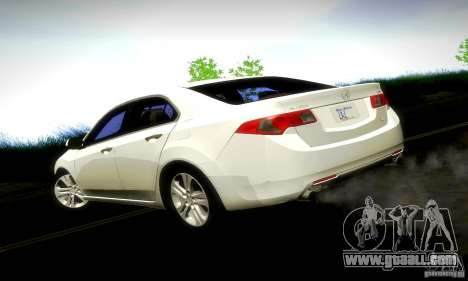 Acura TSX V6 for GTA San Andreas left view