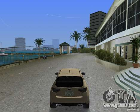 Subaru Impreza WRX STI for GTA Vice City left view