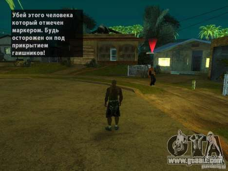 Killer Mod for GTA San Andreas second screenshot