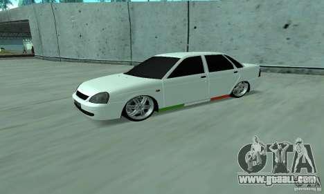 Lada Priora Italia for GTA San Andreas