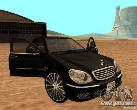 Mercedes-Benz S65 AMG W220 for GTA San Andreas right view