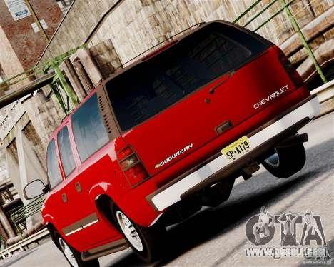 Chevrolet Suburban 2006 V1.1 CIVIL for GTA 4 right view