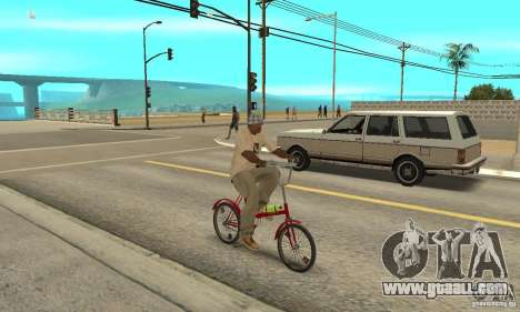 Kama bike for GTA San Andreas right view