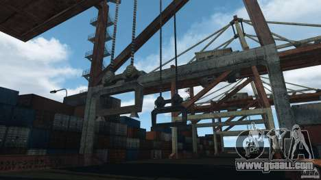 Tokyo Docks Drift for GTA 4 fifth screenshot