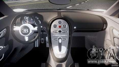 Bugatti Veyron 16.4 v1 for GTA 4 right view