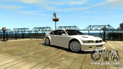 BMW E46 M3 GTR Sport for GTA 4 right view