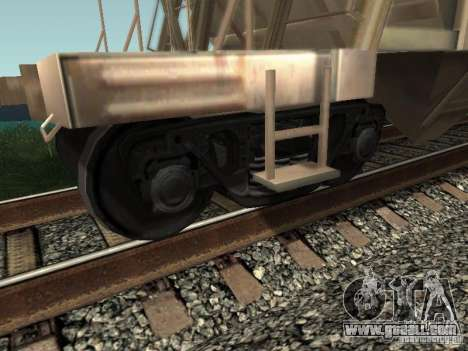 Cement hopper for GTA San Andreas right view