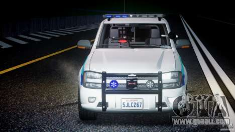 Chevrolet Trailblazer Police V1.5PD [ELS] for GTA 4 bottom view