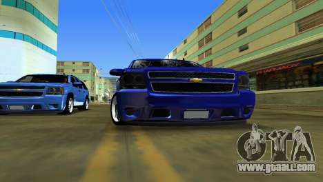 Chevrolet Tahoe 2011 for GTA Vice City right view