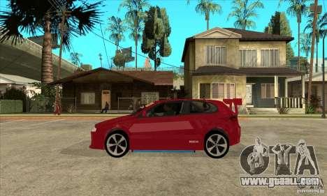 Alfa Romeo 147 for GTA San Andreas left view