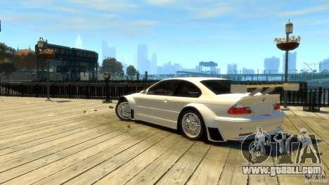 BMW E46 M3 GTR Sport for GTA 4 left view