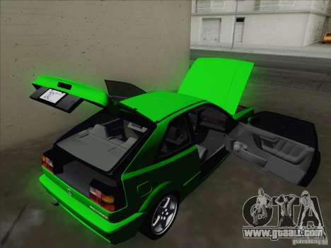 Volkswagen Corrado 1995 for GTA San Andreas interior