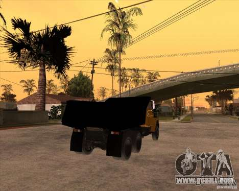 ZIL MMZ 4516 for GTA San Andreas back left view
