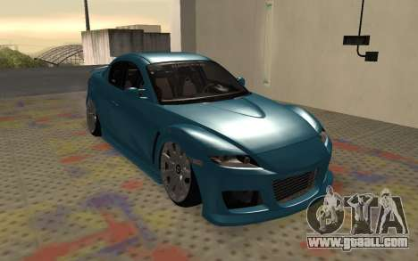 Mazda RX8 VIP for GTA San Andreas left view