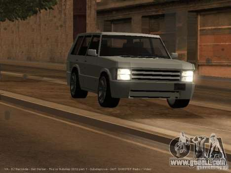 New Huntley for GTA San Andreas left view
