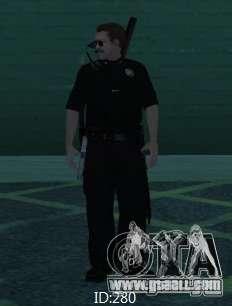 New skins SAPD for GTA San Andreas second screenshot