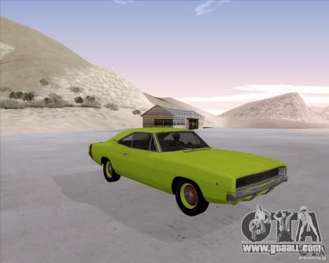 Dodge Charger RT 440 1968 for GTA San Andreas