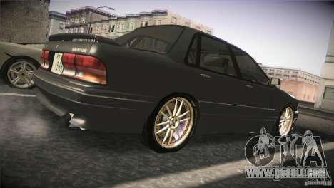 Mitsubishi Galant VR-4 v0.01 for GTA San Andreas right view