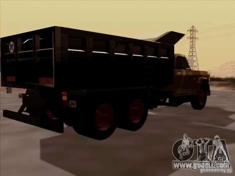 Dodge Dumper for GTA San Andreas back left view