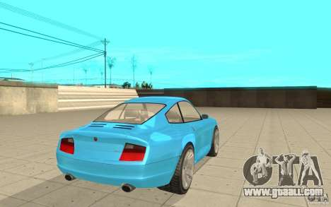 Comet from GTA 4 for GTA San Andreas back left view