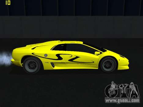 Lamborghini Diablo SV for GTA San Andreas left view