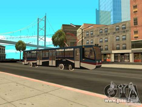 The NEW Tramway for GTA San Andreas fifth screenshot