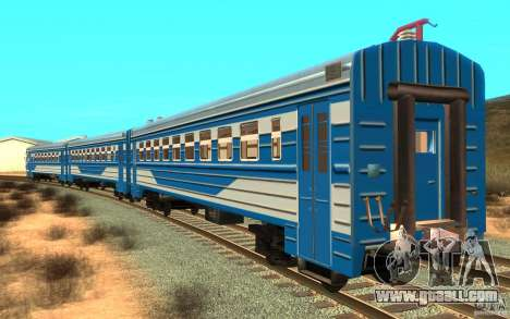 Train ER2-K-1321 for GTA San Andreas left view