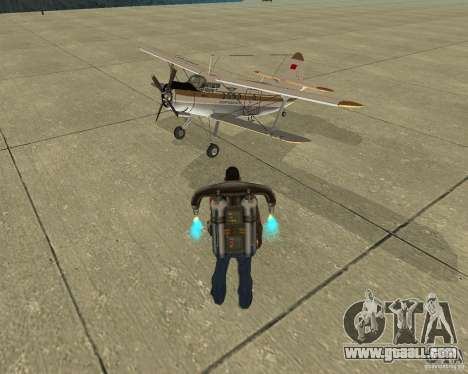 Pak air transport for GTA San Andreas engine