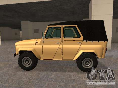 UAZ 31512 for GTA San Andreas left view