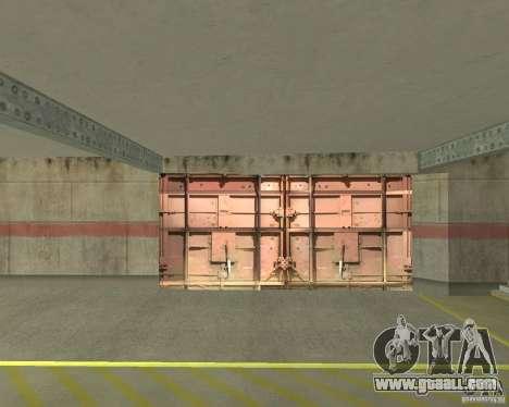 Pneumatic gate in area 69 for GTA San Andreas third screenshot