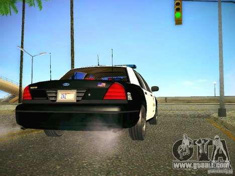 Ford Crown Victoria Police Intercopter for GTA San Andreas right view