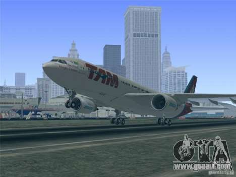 Airbus A330-223 TAM Airlines for GTA San Andreas engine