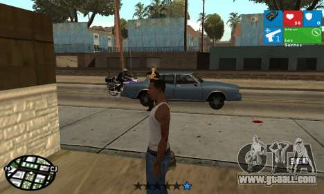 Windows 8 HUD for GTA San Andreas third screenshot