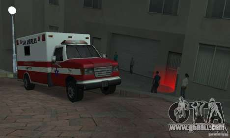 Street fighting v2 for GTA San Andreas