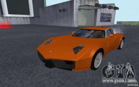 Spada Codatronca TS Concept 2008 for GTA San Andreas