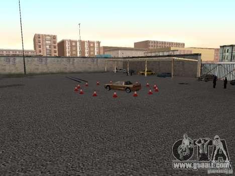 Realistic driving school v1.0 for GTA San Andreas second screenshot