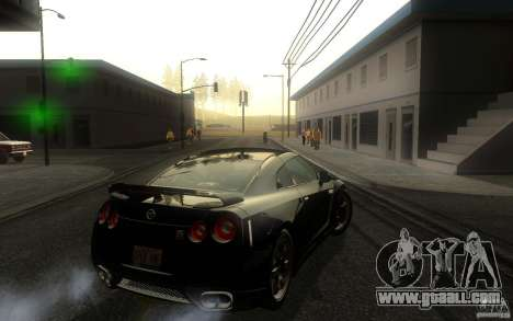 Nissan GTR R35 Spec-V 2010 for GTA San Andreas right view
