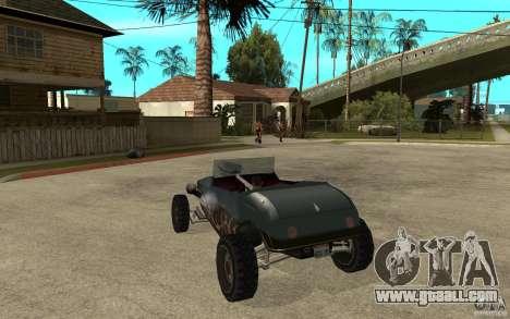 Deuce Brutal Legend for GTA San Andreas back left view