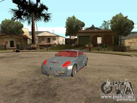 Nissan 350Z Virgo for GTA San Andreas