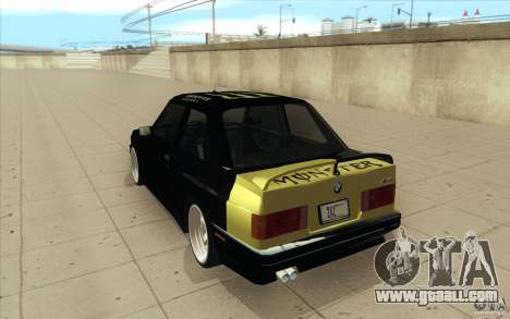 BMW E30 323i for GTA San Andreas side view